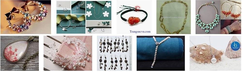 Tính sáng tạo và thẩm mỹ của trang sức handmade