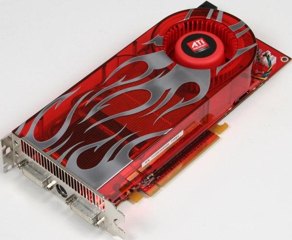 Radeon HD2900 XT. Đây là câu trả lời của AMD trước 8800 Ultra cũng ra mắt vào tháng 05/2007. Chính thời kỳ này đã đánh dấu cuộc chiến giữa đội xanh (Nvidia) và đội đỏ (ATI Technologies, sau này được AMD mua lại).