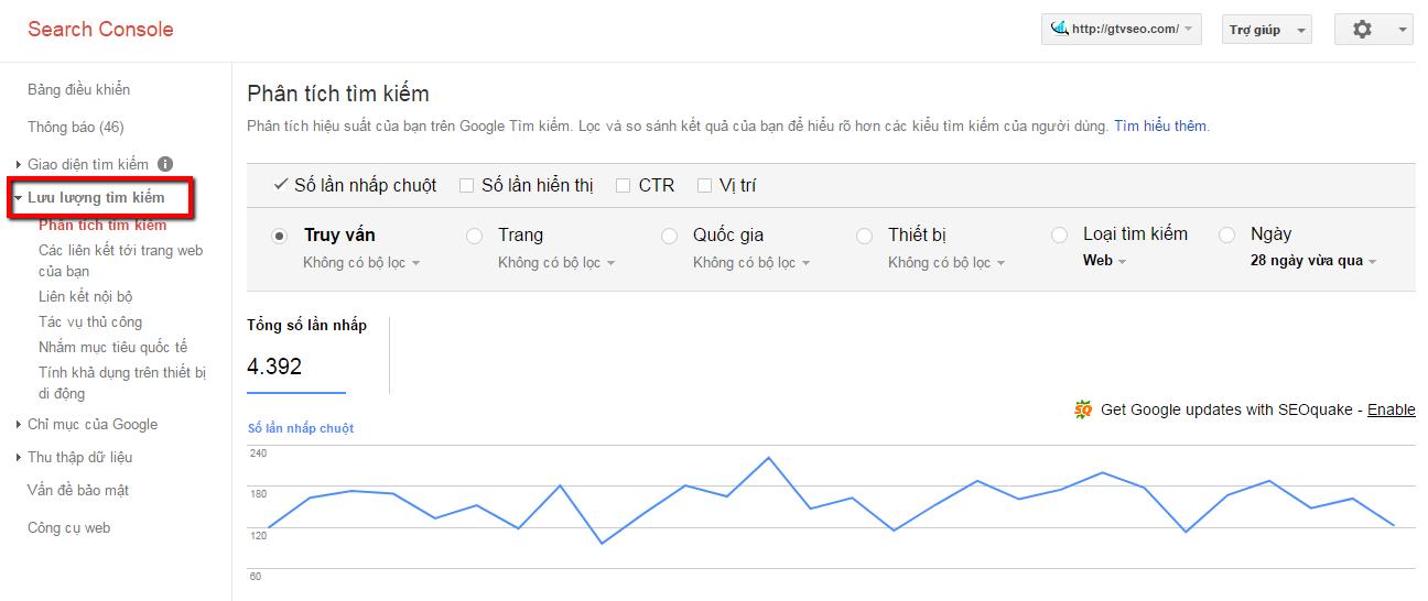 Tìm hiểu về Google webmaster tools