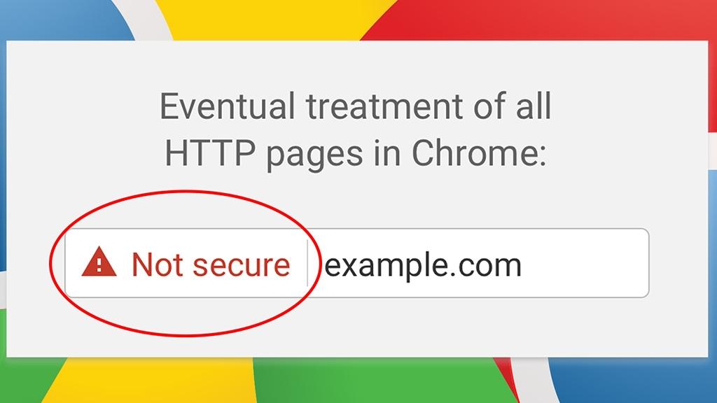 Những website dùng giao thức HTTP sẽ bị Google liệt vào danh sach đen