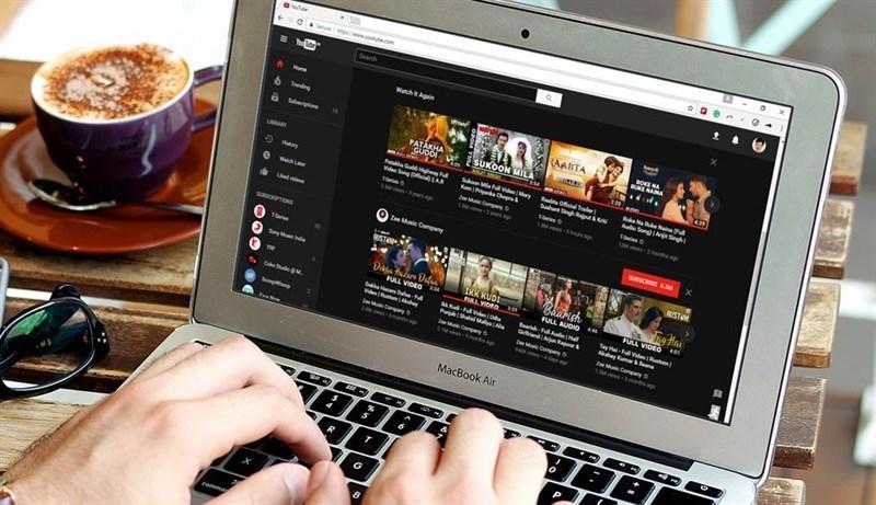 kích hoạt giao diện ban đêm cực đẹp cho Youtube