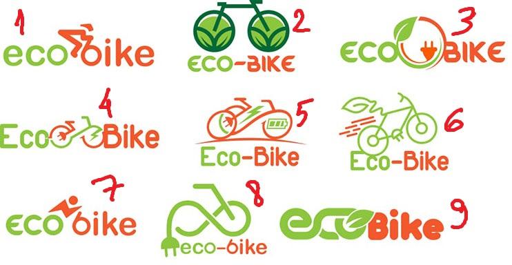 thiết kế logo bán xe đạp điện