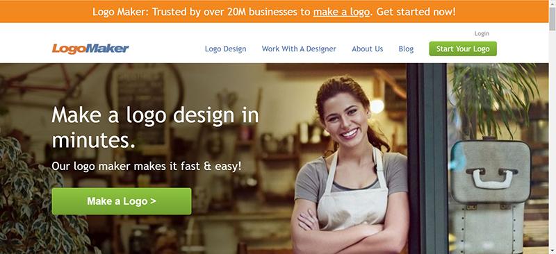 Trang web thiết kế logo online miễn phíLogo Maker của Zyro