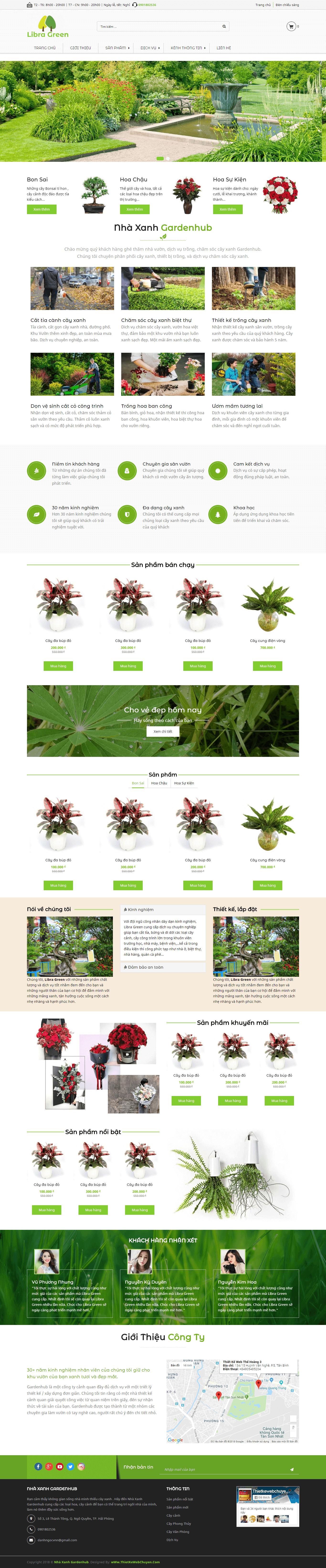 Mẫu web bán hoa tươi 273869020