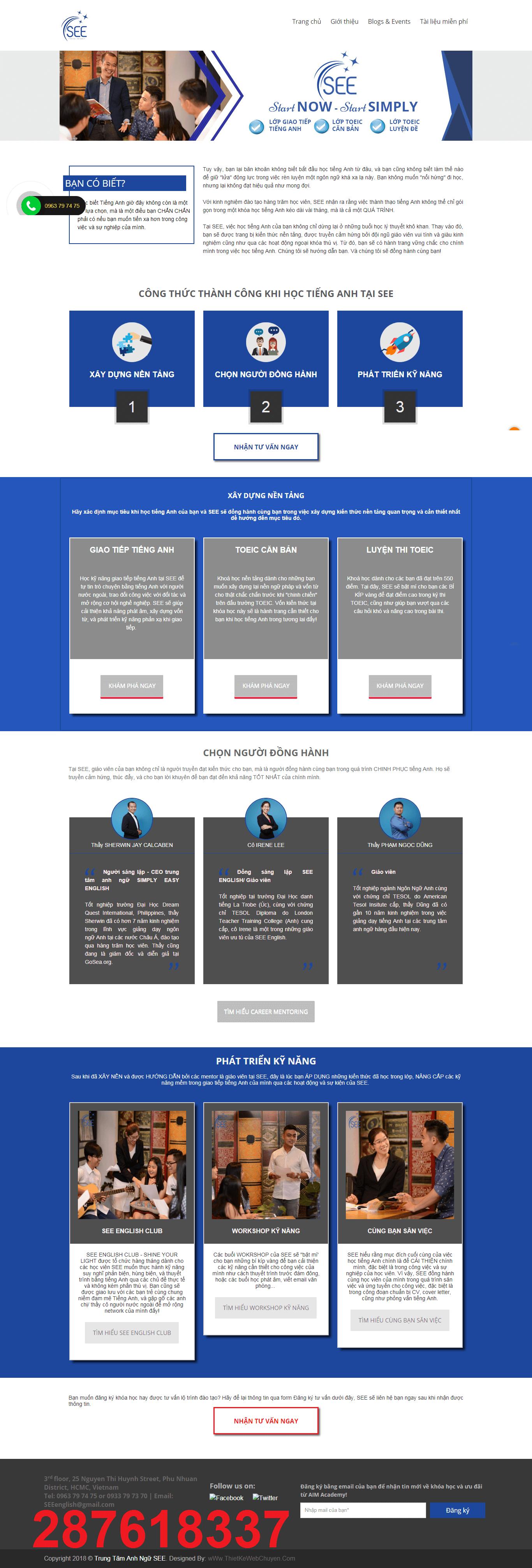 Mẫu web giáo dục seeenglish.edu.vn 287618337