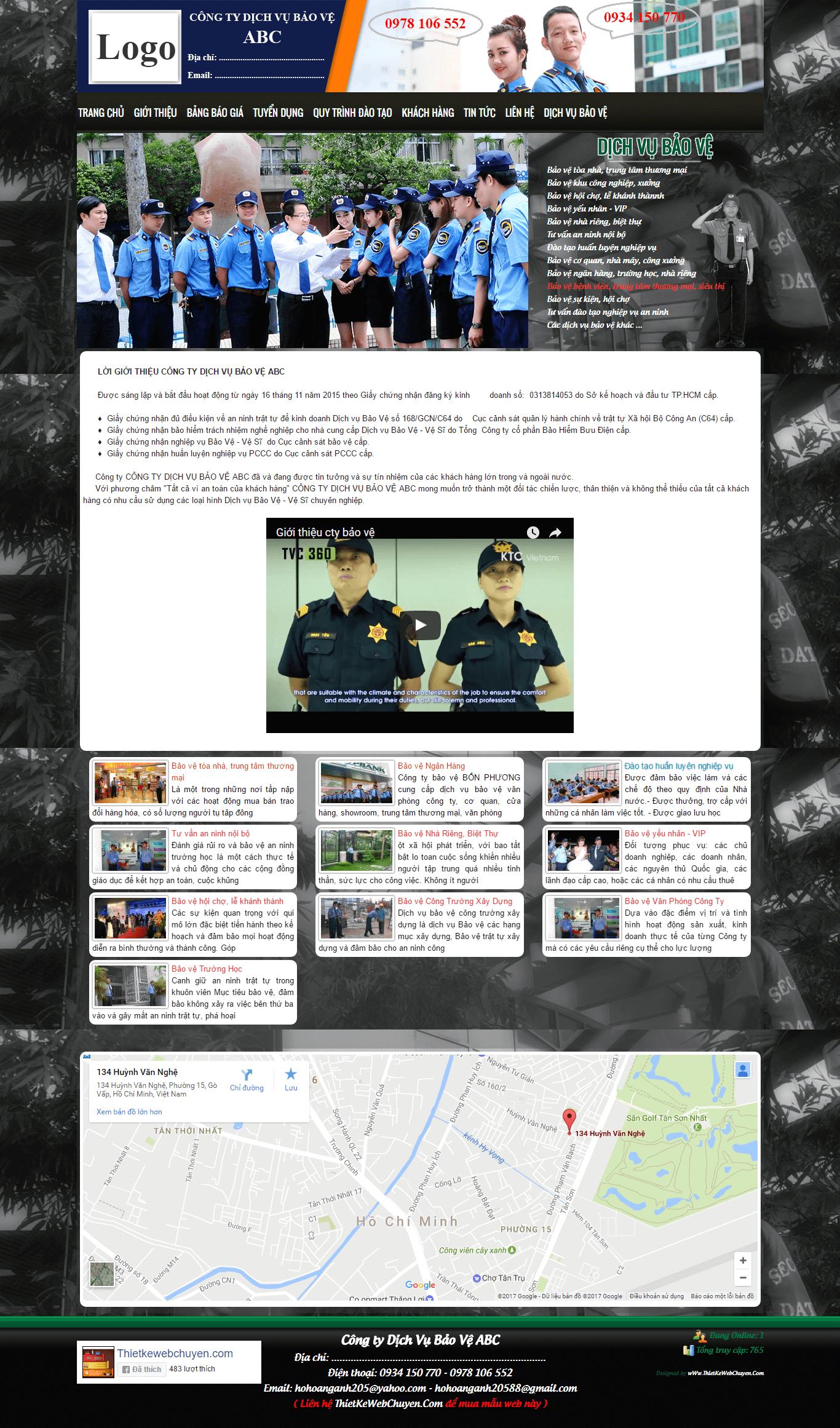 Mẫu web giới thiệu công ty 814772984