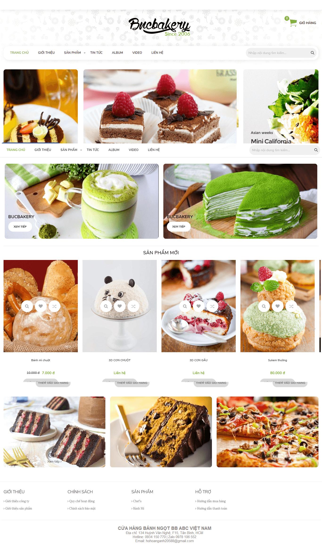Web bán bánh ngọt 586771545