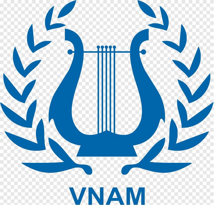 Mẫu logo logo Học viện Âm nhạc Quốc gia Việt Nam Hà Nội - thietkewebchuyen