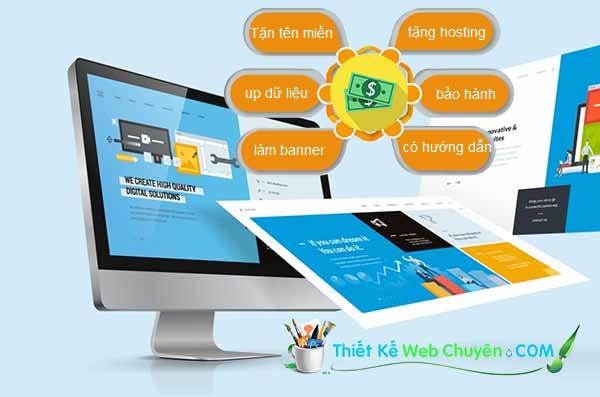 báo giá thiết kế web trọn gói