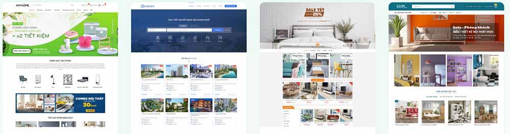 Thiết kế web công ty nội thất – thietkewebchuyen