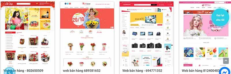 Thiết kế web bán hàng theo yêu cầu - thietkewebchuyen.com