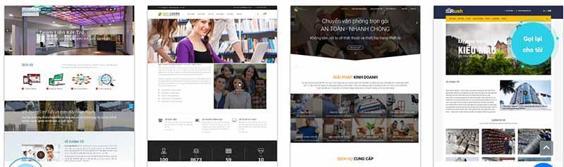 Thiết kế web công ty theo yêu cầu - thietkewebchuyen.com