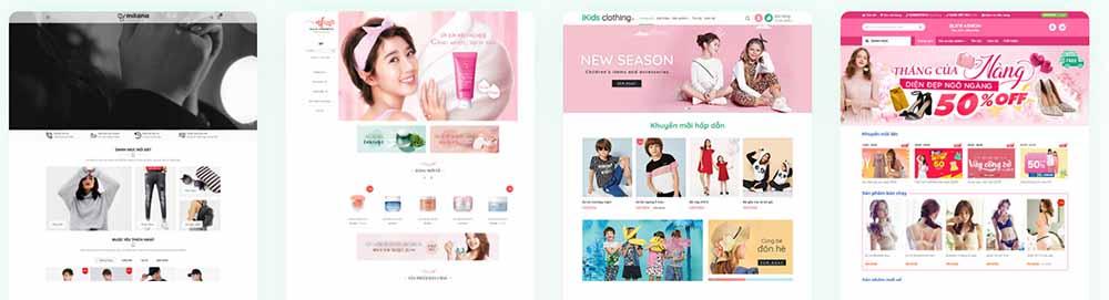 Thiết kế web bán hàng trọn gói - thietkewebchuyen