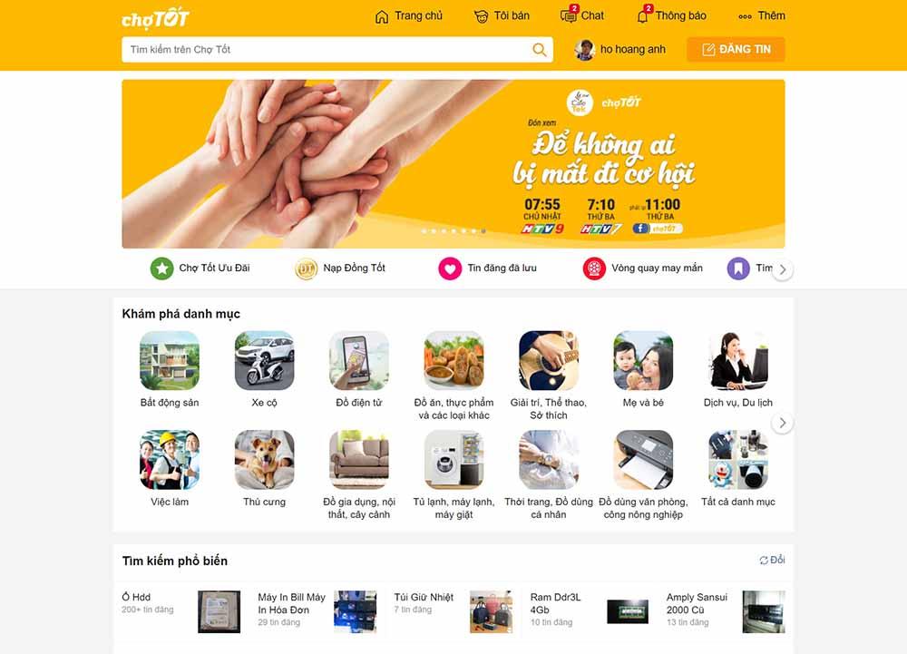 Thiết kế web rao vặt trọn góinhư chotot chợ tốt - thietkewebchuyen