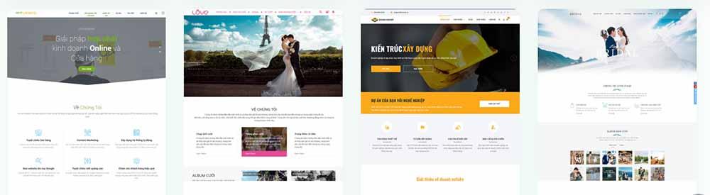 Thiết kế web trọn gói công ty trọn gói - thietkewebchuyen